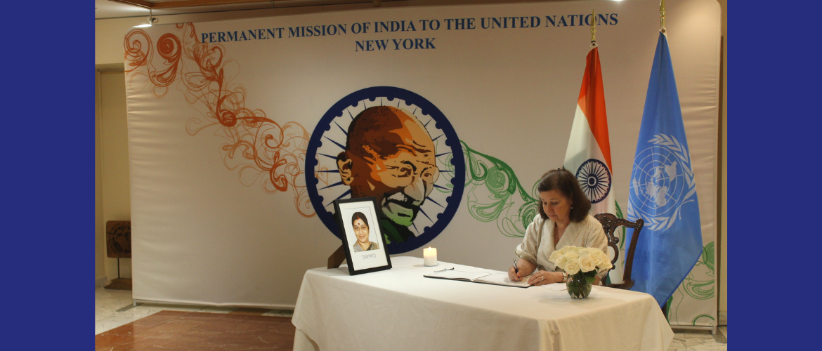 Welcome to Permanent Mission of India to the UN , New York