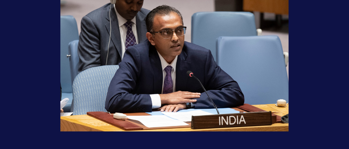 "Ambassador K. Nagaraj Naidu, Deputy Permanent Representative at the UN Security Council Open Debate on <br> ""The role of reconciliation in maintaining international peace and security"""