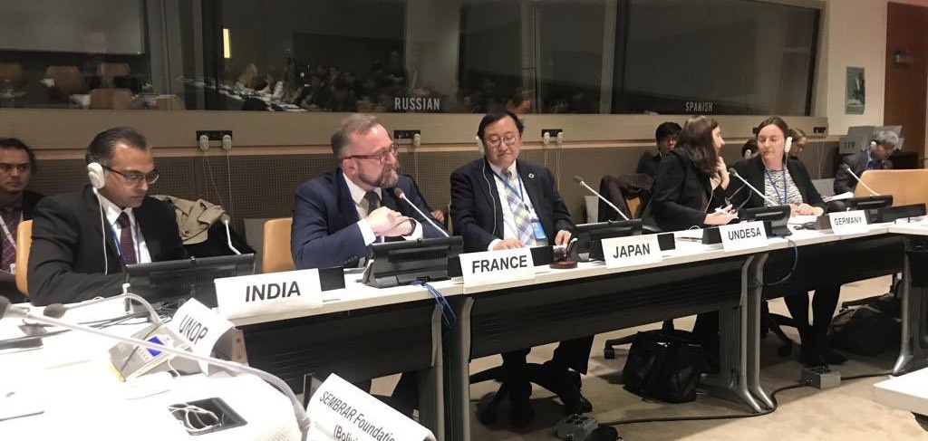 India joins Japan, France, Germany and UNDP for an enriching Panel Discussion on <br>Innovative Finance for Sustainable Development: Scale and Impact