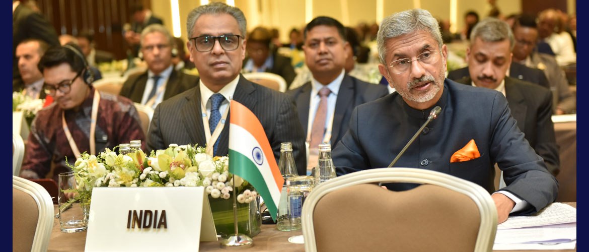 Dr. S. Jaishankar, External Affairs Minister at the 18th Summit of the Non-Aligned Movement: Ministerial Segment, Baku, Azerbaijan